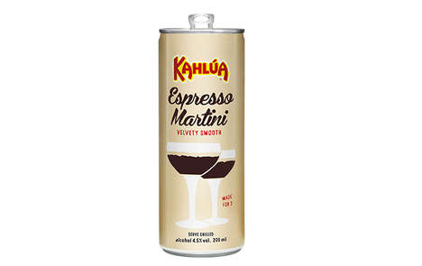 Canned Espresso Martinis