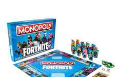 Video Game-Themed Game Boards - A New Fortnite Monopoly Board Reinvents the Classic Board Games