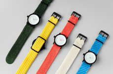 Colorful Knit Watch Designs