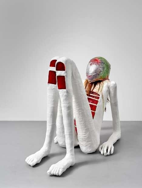 Mixed-Media Abstract Sculpture Installations