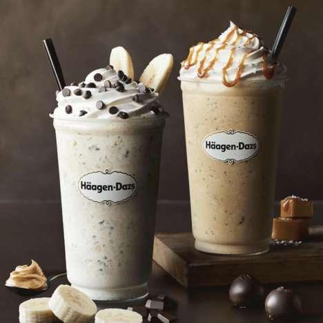 Decadent Ice Cream Shakes
