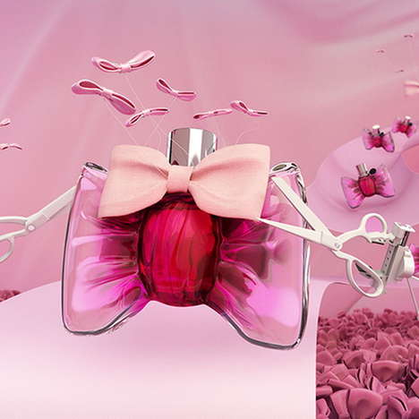 Fashionably Customized Fragrances - Viktor & Rolf's 'Dress Up Your Bottle' Offers Personalization