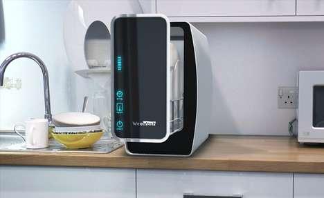Ultra-Compact Countertop Dishwashers