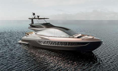 Opulent Car Brand Yachts