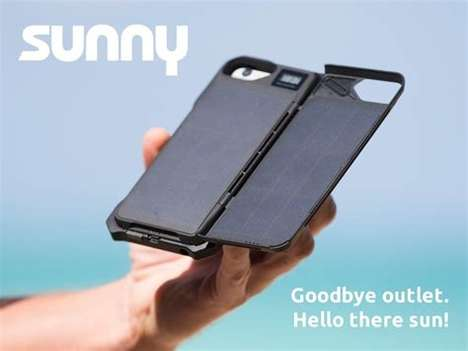Solar-Powered Smartphone Cases