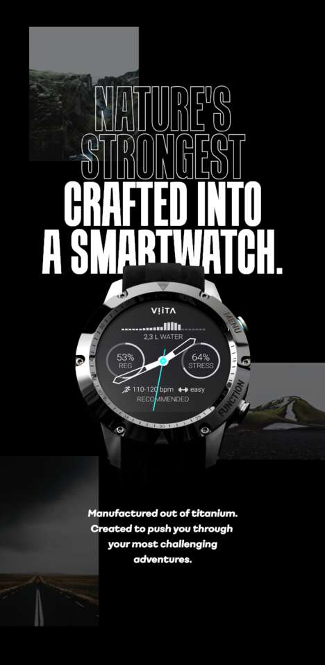 Luxury Material Smartwatches