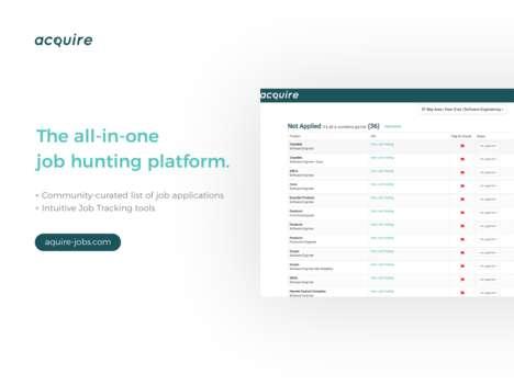 All-in-One Job Hunter Platforms