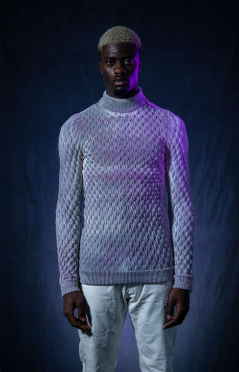 Apocalyptic Pollution-Detecting Sweaters - Eva Sonneveld Boasts a Chic Air Pollution Detector