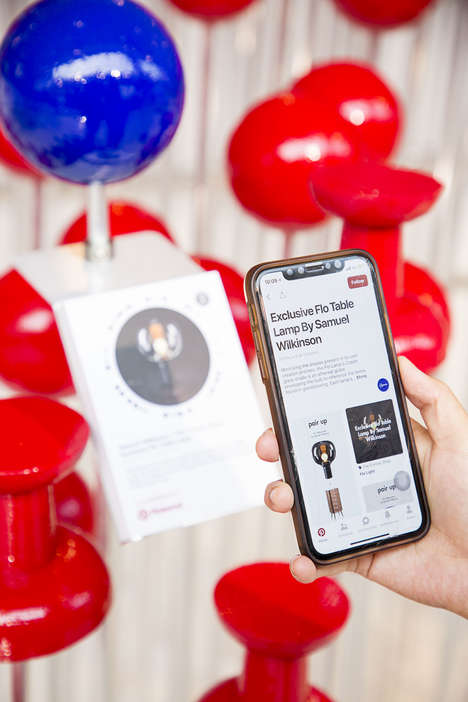 Personalized In-Store Wishlists - The Conran Shop & Pinterest are Simplifying Shopping Experiences