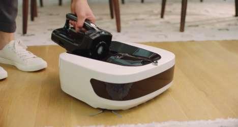 Hybrid Robotic Vacuums