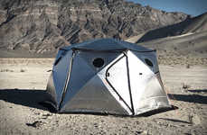 Insulated Heat-Blocking Tents