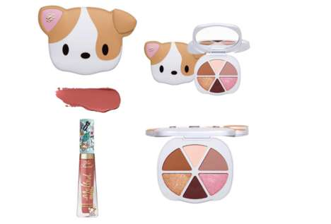 Puppy-Themed Cosmetic Releases - Too Faced Announces Its Adorable Clover Collection