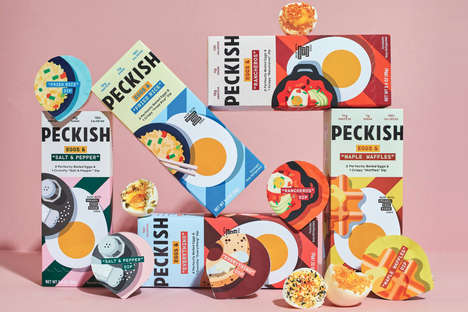 Egg-Centric Snack Brands