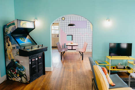 Retro 80s Airbnb Rentals - 'The McFly' Airbnb Boasts a Retro 80s Vibe for Travelers to Enjoy