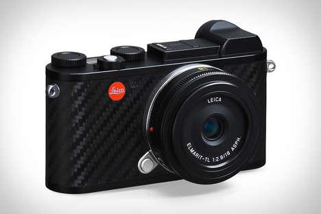 Textured Carbon Fiber Cameras