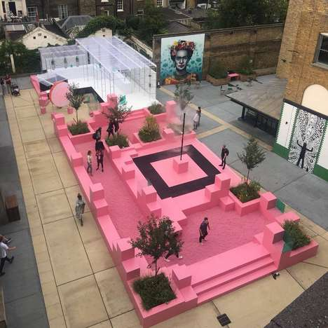 Pop-Up Well-Being Playgrounds - The 'Paradise Now' Urban Outdoor Spa Offers Complimentary Sessions