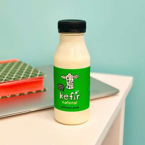 Portable Gourmet Kefir Drinks - The Collective Dairy Kefir Comes in Flavors Like Coconut and Honey