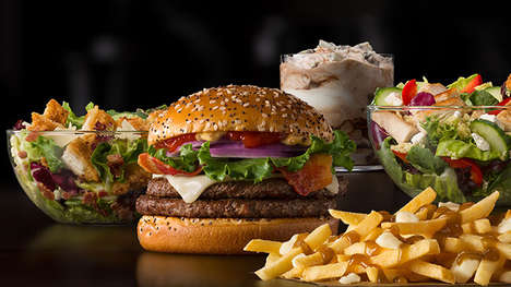 Internationally Inspired Corporate Menus - McDonald's is Offering International Menu Items at Its HQ