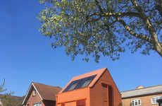 Eco-Friendly Bright Orange Homes