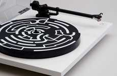 Design-Forward Charitable Turntables