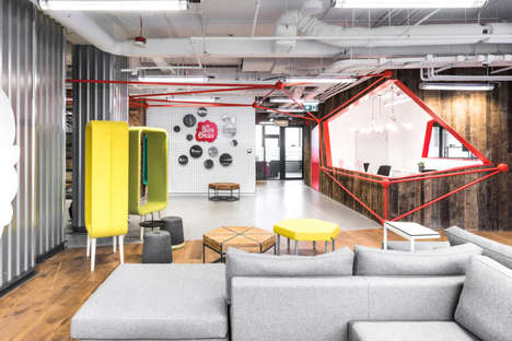27 Co-Working Space Interiors - From Co-Learning Concept Spaces to Designer Women-Only Pop-Ups