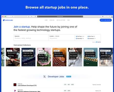 Trend maing image: Startup-Only Job Platforms