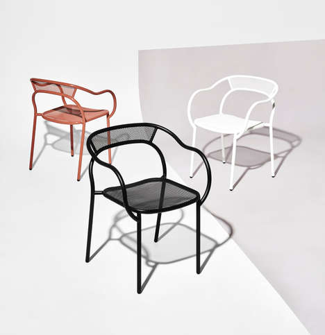 Industrial Stackable Chairs