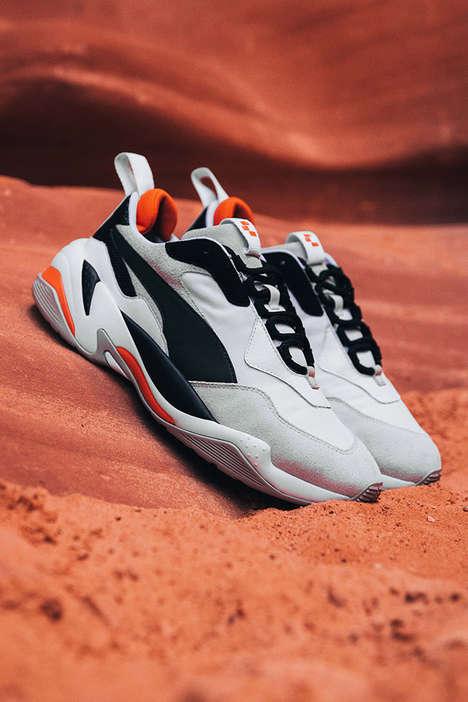 Mars-Inspired Sneakers