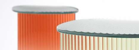 Gradient Auto Glass Tables