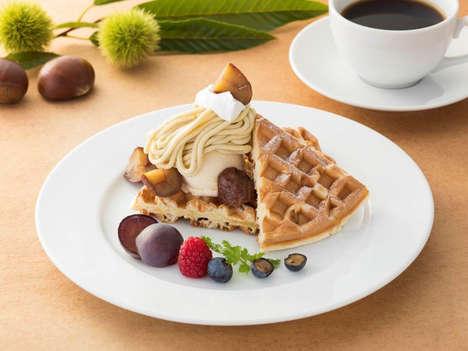 Chestnut-Centric Dessert Menus