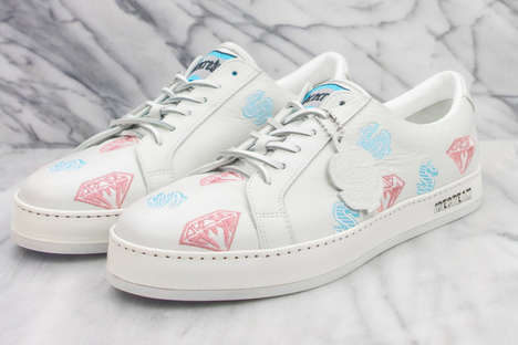 Luxe Dessert Graphic Footwear