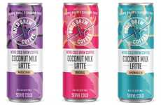 Canned Coconut Milk Lattes - Bold Brew's New Line Pairs Nitro Cold Brew Coffee with Coconut Milk
