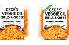 Butternut Macaroni Meals - CeCe's Veggie Company is Introducing Heat-and-Eat Squash-Based Meal