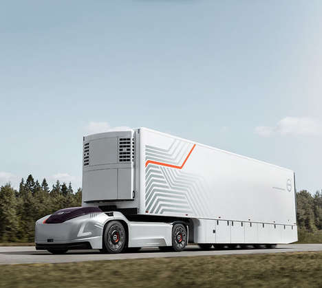 Quiet Autonomous Transport Trucks