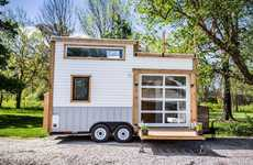 Rooftop Deck Tiny Homes