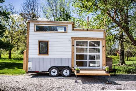 Rooftop Deck Tiny Homes - This Tiny House from TAD Homes Maximizes Outdoor Space