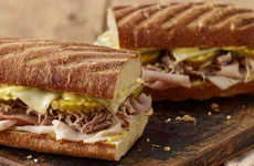 Cuban-Inspired Bakery Sandwiches