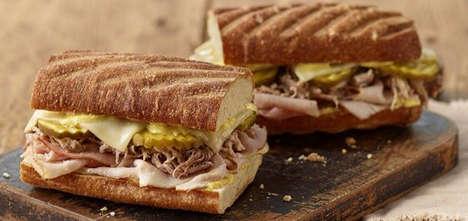Cuban-Inspired Bakery Sandwiches