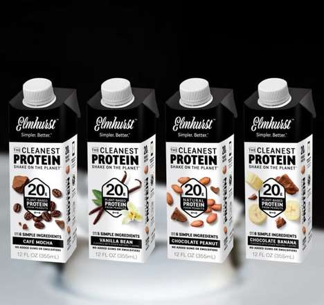 Peanut Protein Shakes