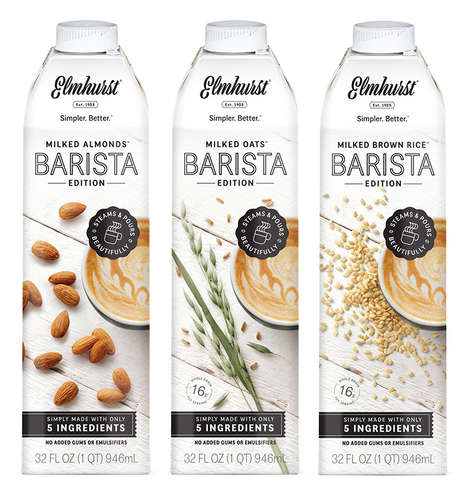 Cafe-Quality Non-Dairy Milks