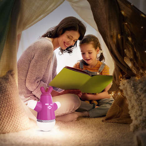 Interactive Child Companion Toys - 'Lummee' Helps Kids Get to Sleep, Wake Up and Enjoy Music