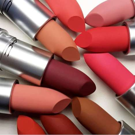 Nourishing Vibrant Matte Lipsticks - MAC's Powder Kiss Lipstick is Comfortable and Colorful