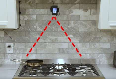 Stovetop-Monitoring Cooking Devices - 'PanPerfect' Lets You Keep a Digital Eye on Your Range