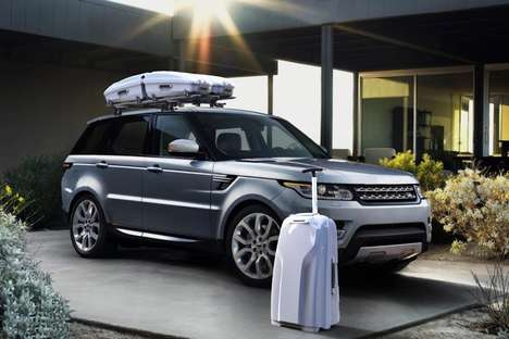 Aerodynamic Car-Friendly Luggage