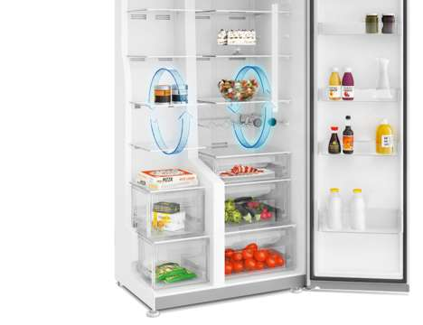 Freshness-Focused Fridges