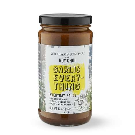 Versatile Garlic Cooking Sauces - The Garlic Everything Sauce is Roy Choi for Williams Sonoma