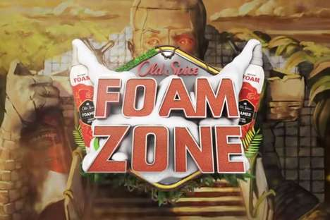 Branded YouTube Game Shows - The Two-Day Old Spice Foam Zone Competition is Controlled By Viewers