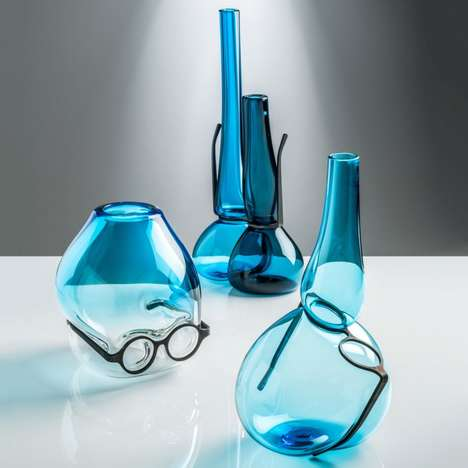 Eyeglass-Integrated Vases