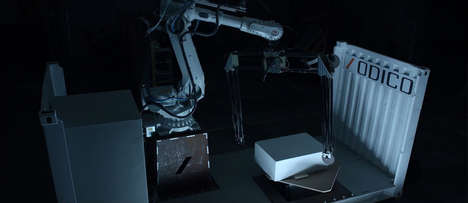 All-in-One Robotic Manufacturing Units - Odico Designs an Easy-to-Operate Unit That is Also Mobile