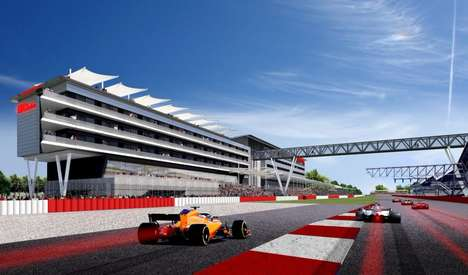 Motorsport Track Hotels - The Hilton Garden Inn Silverstone Will Overlook the Iconic Race Track